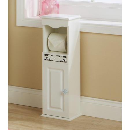 Mountrose Rose Toilet Roll Holder In White Furniture123