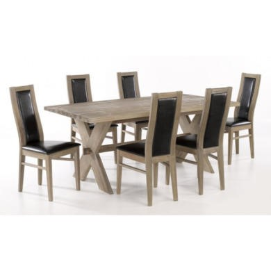 lpd provence solid durian wood dining table furniture123. Black Bedroom Furniture Sets. Home Design Ideas
