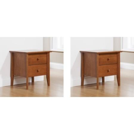 mountrose fiona solid wood 2 piece bedroom furniture set. Black Bedroom Furniture Sets. Home Design Ideas