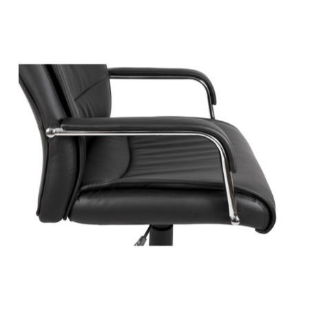 Teknik Office Kendal Exective Black Leather Chair