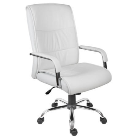 Teknik Office Kendal Executive White Leather Chair