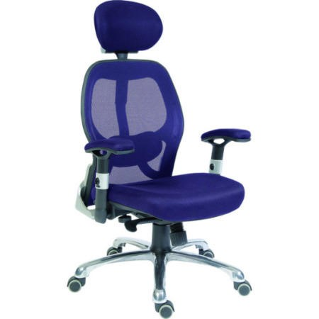 Teknik Office Cobham Blue Mesh Executive Chair