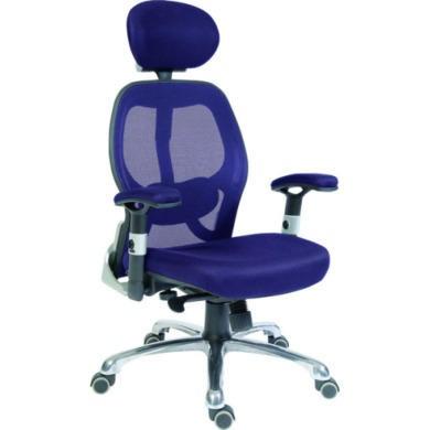 Teknik Office Cobham Blue Mesh Executive Chair