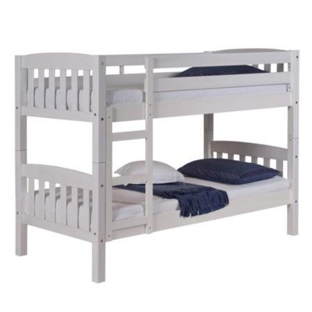 Verona Design America White Short Small Single Bunk Bed   75x160cm