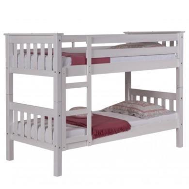 Verona Design Barcelona White Short Single Bunk Bed