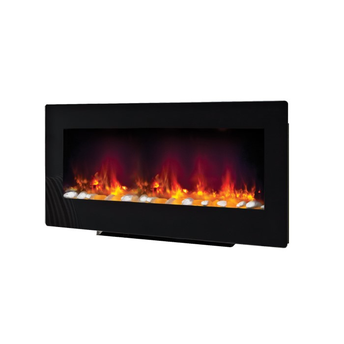 Contemporary Free Standing Electric Fires: Be Modern Amari Electric Wall Mounted Or Free Standing