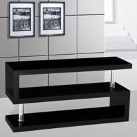 GRADE A1 - Miami TV stand in black