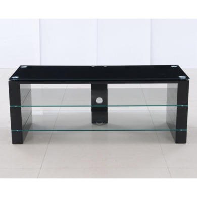 Jacobs High Gloss Black TV Stand