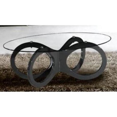 Olympia Black High Gloss Coffee Table