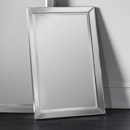 Luna Rectangle Wall Mirror Furniture123