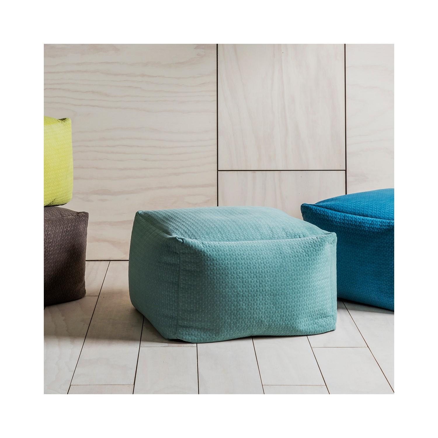 Magnificent Elder Square Bean Bag Chair In Duck Egg Blue Squirreltailoven Fun Painted Chair Ideas Images Squirreltailovenorg
