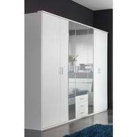Evoque White Wardrobe with Crystal Effect Detailing