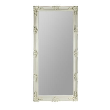 Full Length Leaner Mirror in Cream - Caspian House