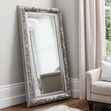 Silver floor mirror uk