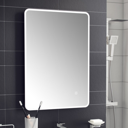 Ashan Led Universal Bathroom Mirror With Demister Pad Furniture123