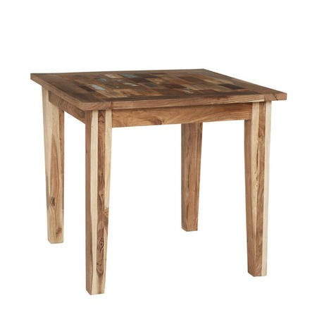 Coastal Reclaimed Wood Square Dining Table