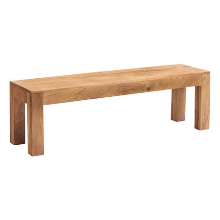 Toko Light Solid Wood Dining Bench