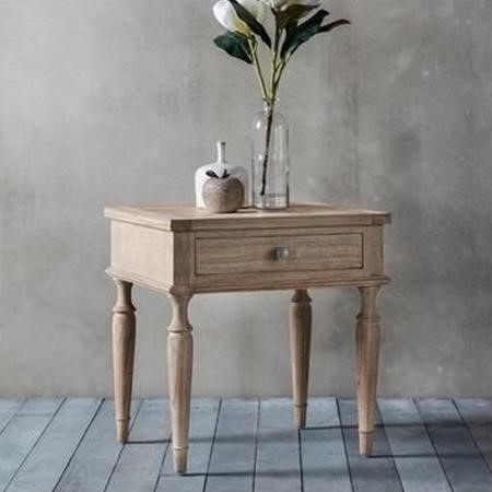Mustique 1 Drawer Bedside Table