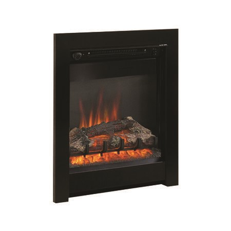 "Be Modern Athena 16"" Electric Inset Fire in Black"