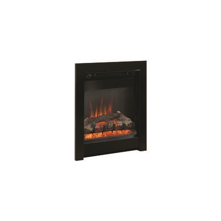 "Athena 18"" Electric Fireplace Insert in Black - Be Modern Range"