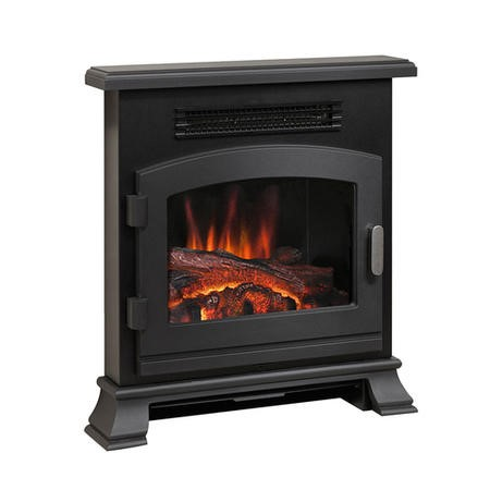 BeModern Banbury Electric Inset Fire Stove in Anthracite Grey