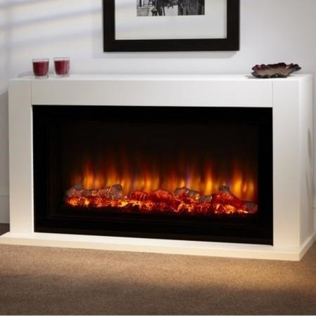 Suncrest Cleadon Electric Low Level Fireplace Suite In
