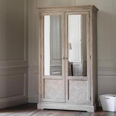 Mustique 2 Mirror Door Wardrobe