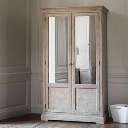 Caspian House 2 Mirror Door Wardrobe