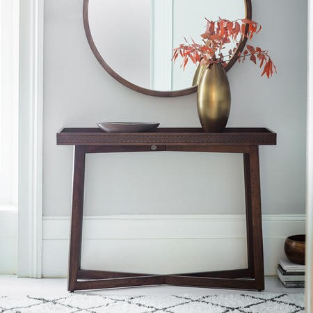 Gallery Boho Retreat Solid Wood Console Table