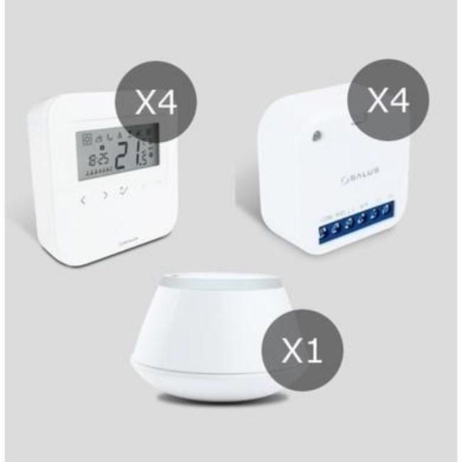 Salus Smart Home Pack for 4 Zones