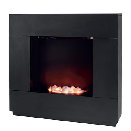 Beldray Sorrento Electric Fireplace Suite in Black