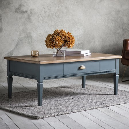 Gallery Bronte 1 Drawer Coffee Table Storm