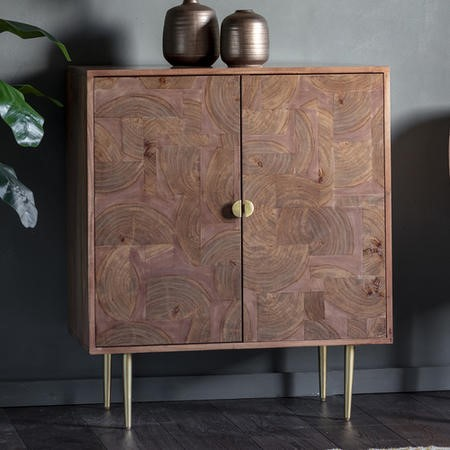 Gallery Solid Wood Sideboard with Rustic Fnish - Ontario Range