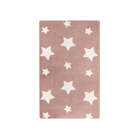 Twinkle Candy Floss Pink Kids Rug 90x150cm - Flair