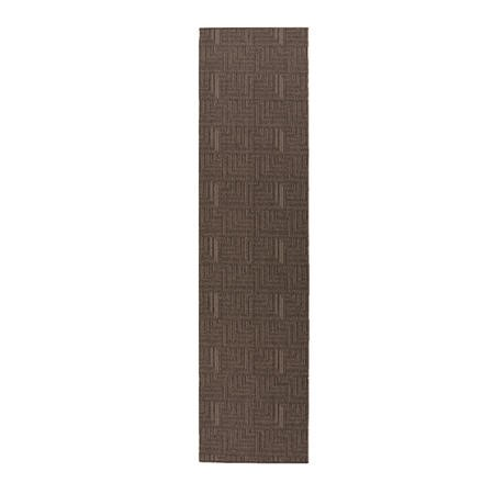 Charcoal Grey Hallway Runner Rug 57x230cm - Flair Pinnacle