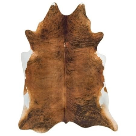 Chestnut Brown Faux Cowhide Rug - 190x240cm