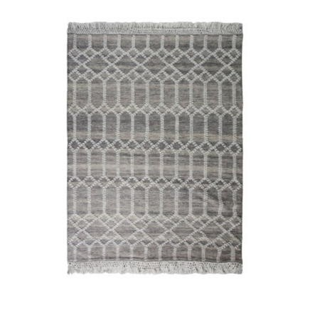 Hand Crafted Beige Rug - 160 x 230 cm