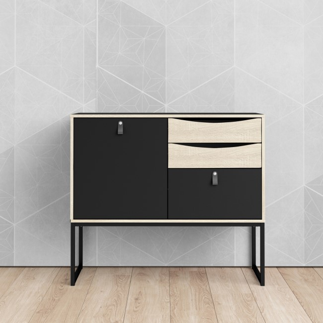 Stubbe Sideboard with 1 Door and 3 Drawers