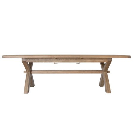 Extendable Smoked Oak Dining Table