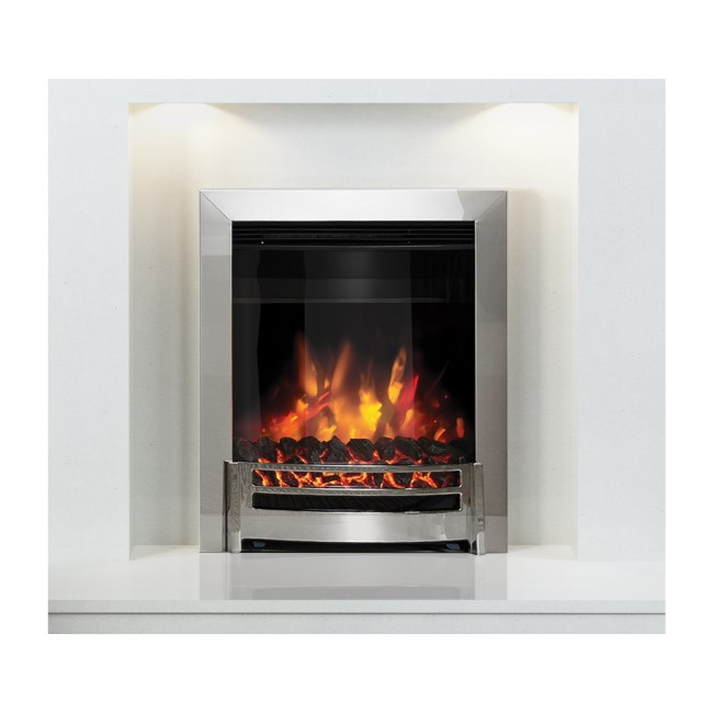 Ember Electric Inset Fire Chrome