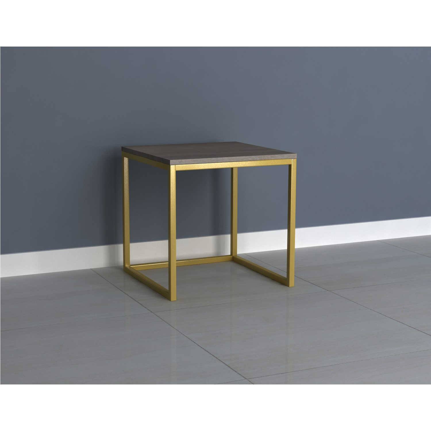 Picture of: Grey Wash Side Table With Gold Legs Alice Furniture123