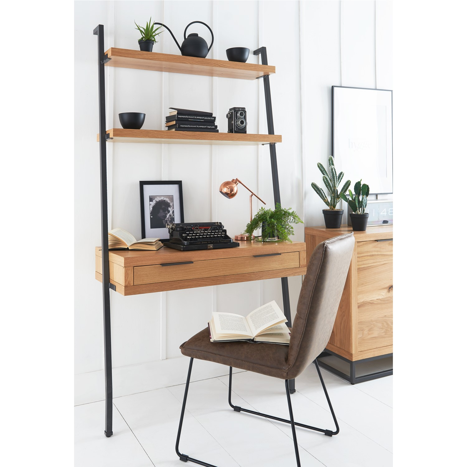 Photo of Industrial desk with black legs