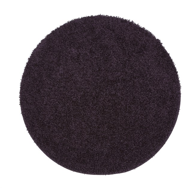 Ripley Stain Resistant Circle Purple Rug - 100x100cm