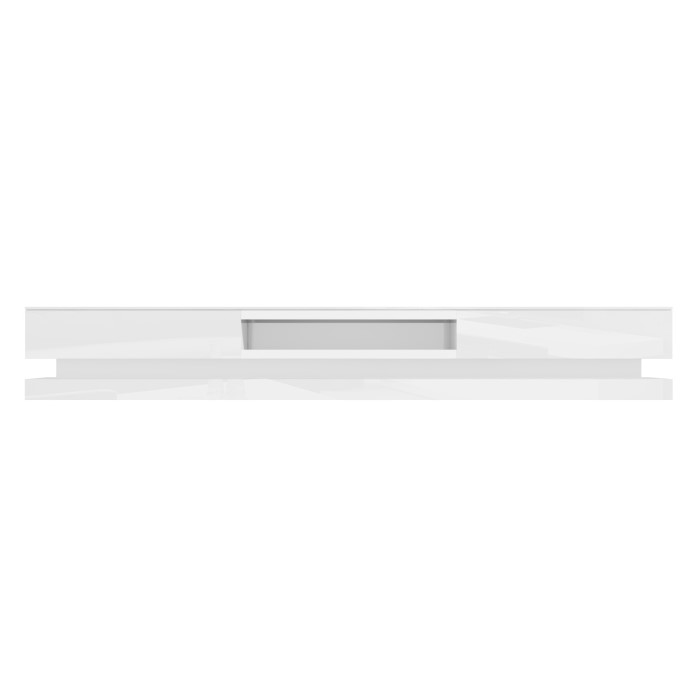 Evoque Xl White High Gloss Tv Unit With Led Lighting Furniture123