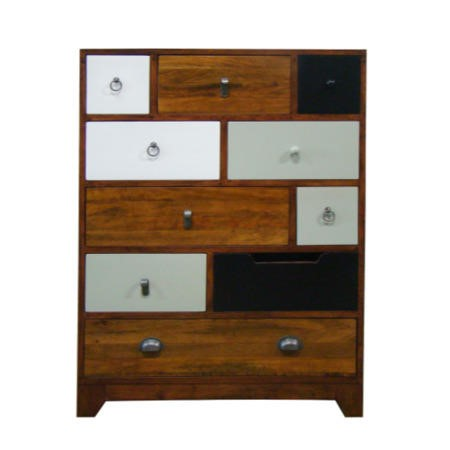 Signature North Retro 10 Drawer Tall Chest of Drawers