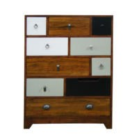 Signature North Retro 10 Drawer Tall Chest
