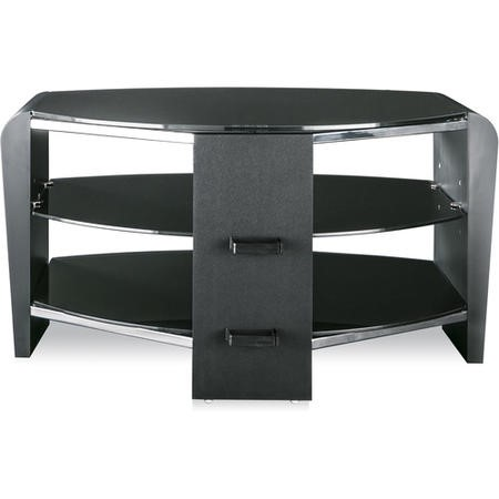 "Alphason FRN800/3BLK/BK Francium Black TV Stand for up to 37"" TVs"
