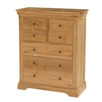 Bayonne Oak 3+4 Drawer Chest
