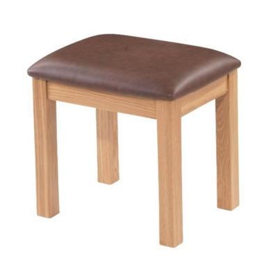 Heritage Furniture Bayonne Oak Dressing Table Stool