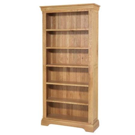 Bayonne oak tall bookcase furniture123 for Furniture 123